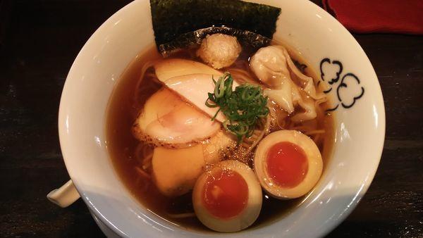 「特製 鶏の醤油 1100円」@鶏喰~TRICK~の写真