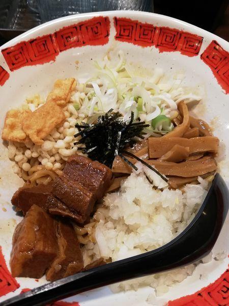 「特選油そば」@つけ麺屋 ひまわりの写真