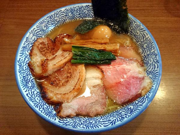 「特製生姜塩そば」@煮干しつけ麺 宮元の写真