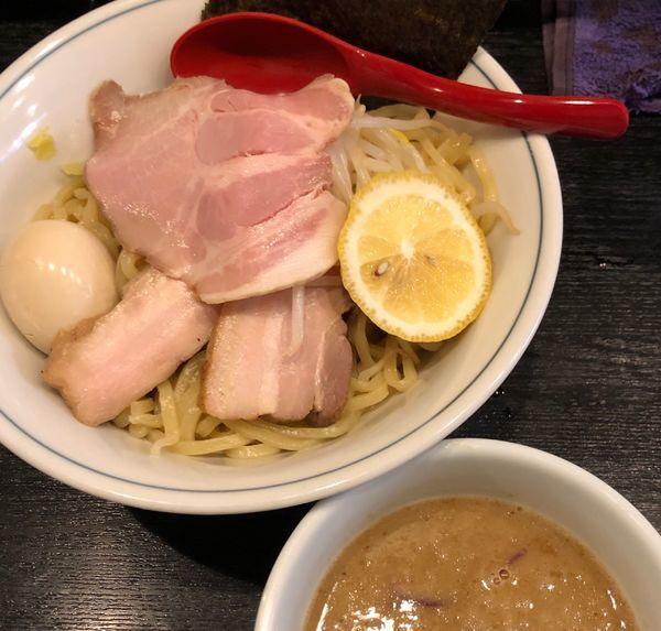 「鷄白湯濃厚特製つけ麺 中盛」@雨ニモマケズの写真