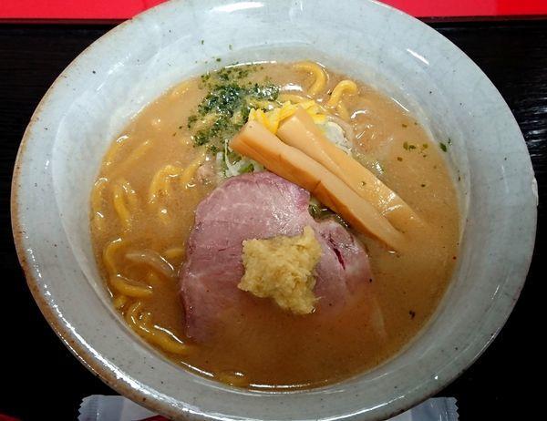 「味噌ラーメン」@麺屋大河 小田急金沢・加賀・能登 味と技展の写真