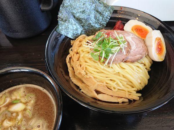 「つけめん800円+味玉100円」@麺や 笑 ~Sho~の写真
