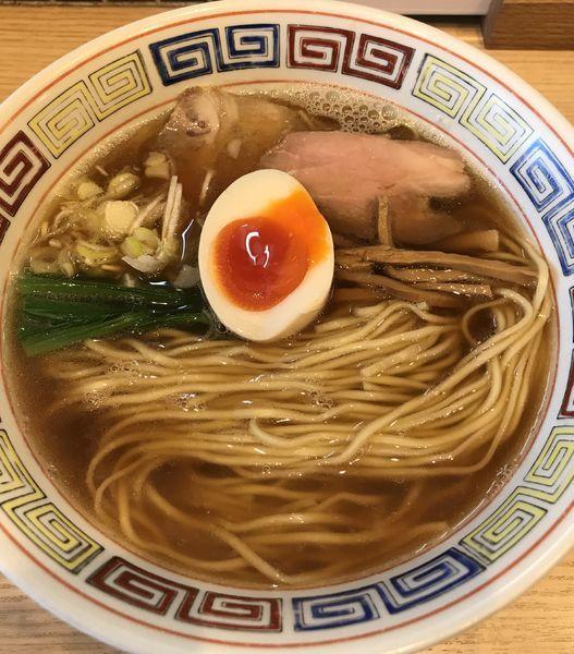 「中華そば ¥750」@ほっこり中華そば もつけの写真