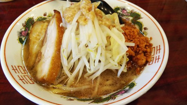 「郎郎郎麺プチ¥650」@郎郎郎の写真