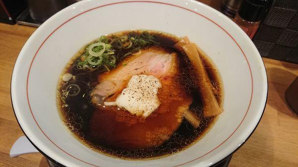 「ポンバシブラック 750円」@清麺屋の写真