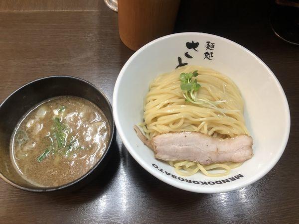 「濃厚魚介つけ麺 中盛り」@麺処 さとうの写真