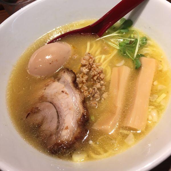 「鶏白湯ポタージュラーメン」@千駄木 らーめん いっとくの写真