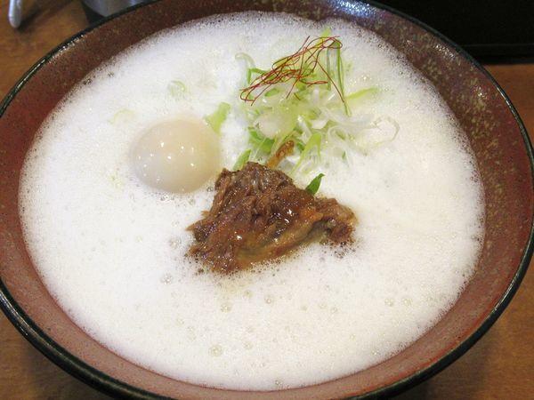 「【数量限定】濃厚鶏らーめん(850円)」@麺屋よつ葉の写真
