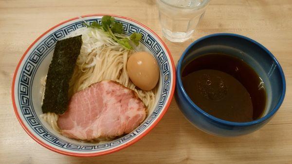 「味玉昆布水のつけ麺(醤油)¥850-」@麺処 有彩の写真