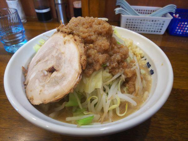 「瀑麺小700円」@爆麺亭 所沢店の写真