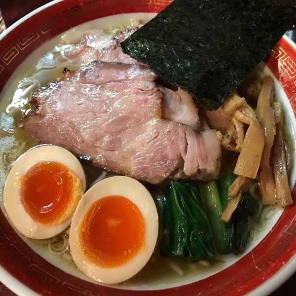 「特塩(細麺)850円」@麺処 懐やの写真