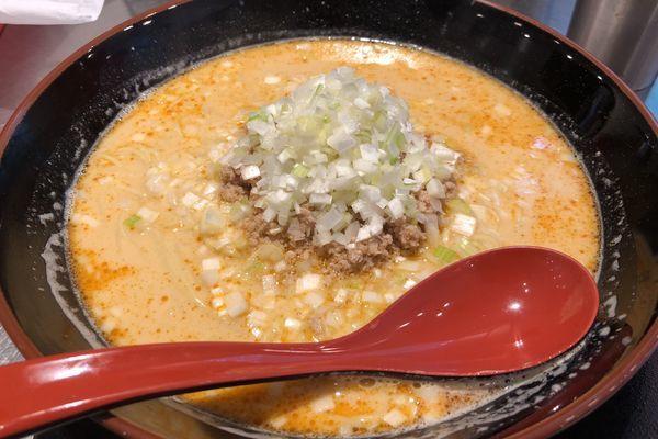 「担々麺」@高崎はた山の写真