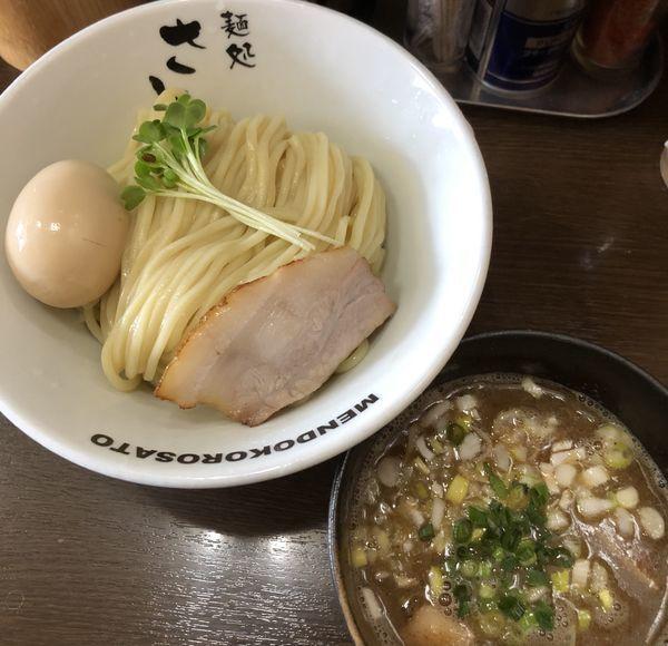 「濃厚魚介豚骨つけ麺 中盛 味玉」@麺処 さとうの写真