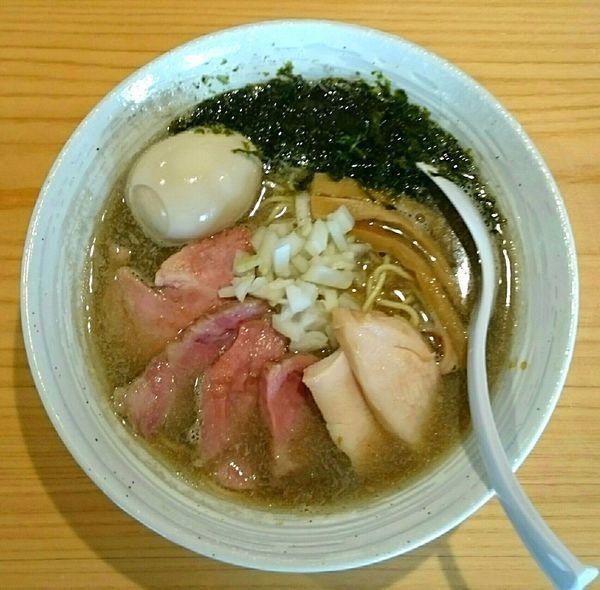 「特製煮干らぁ麺 味付き替え玉」@麺屋 さくら井の写真