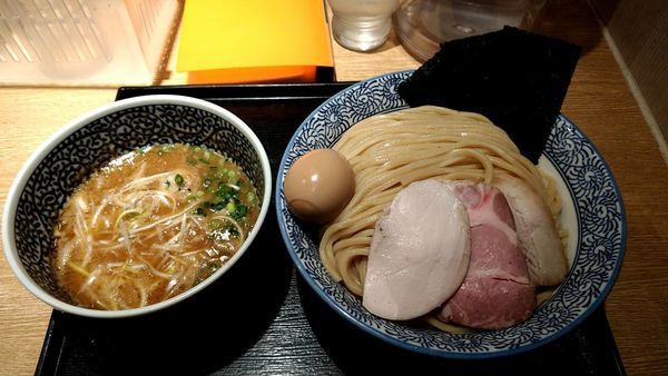 「特製濃厚魚介つけ麺(大盛り)」@麺屋 一燈の写真