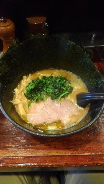 「豚骨醤油ラーメン(海苔増し)」@麺屋 大和田の写真