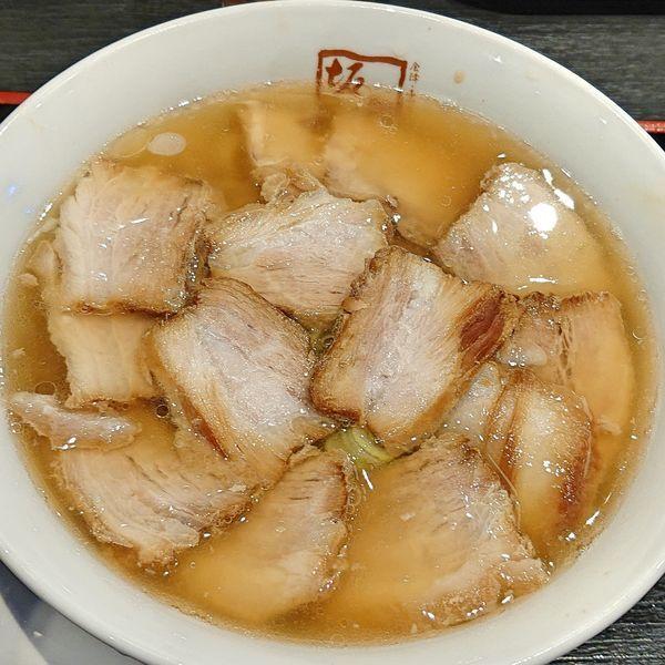 「焼豚ラーメン 970」@喜多方ラーメン 坂内 杉戸店の写真