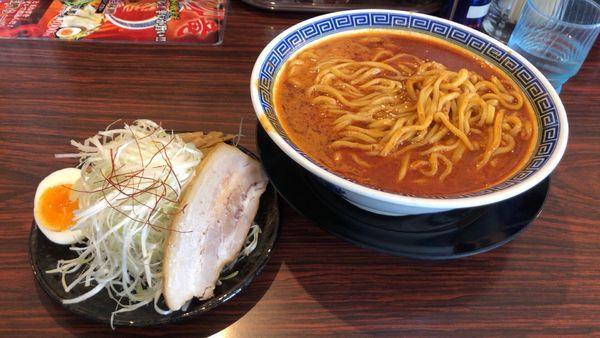 「特製カラシビ味噌 中(3辛」@らーめん伏竜 本店の写真