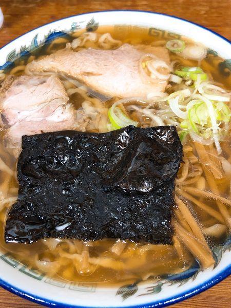 「中華そば 小盛 うす口 ¥650」@ケンちゃんラーメンの写真