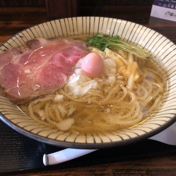 「白らーめん(800円)」@仮麺中(ぬちぐすい)の写真