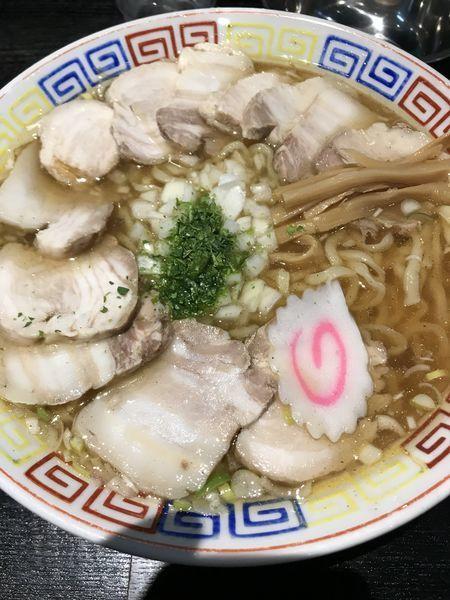 「チャーシュー麺 大 コッテリ」@山形飛島 亜呉屋 仙台店の写真