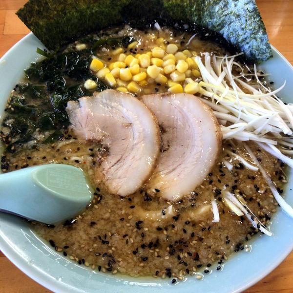 「味噌ラーメン(半麺)690円 半ライス 0円」@ラーメンショップ 足利50号店の写真