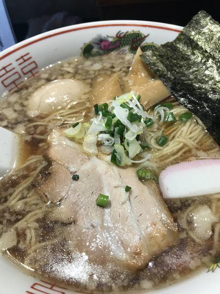 「背脂黒醬麺 玉子」@拉麺5510の写真