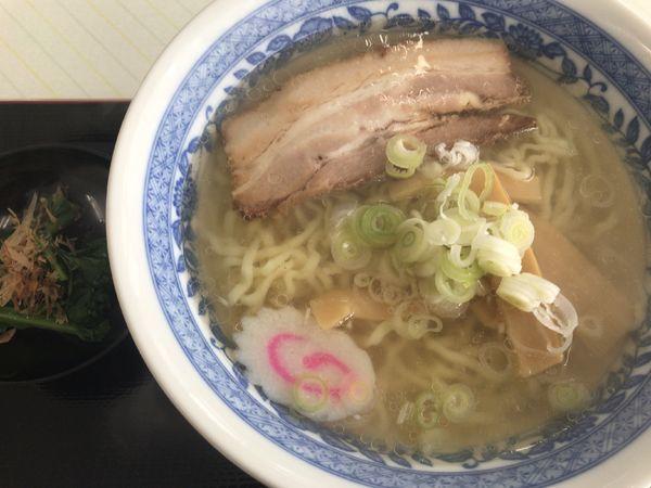 「会津山塩ラーメン800円」@むらびとの写真