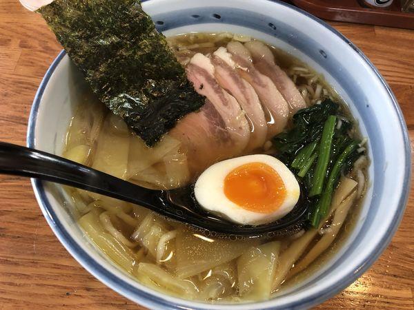 「叉焼ワンタン麺」@奥州白河ラーメン ○政の写真