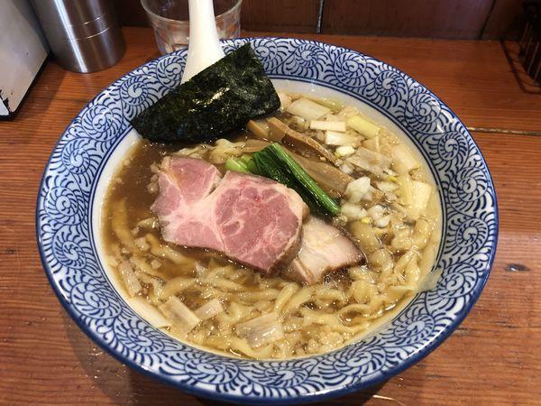「手揉み中華蕎麦(醤油) 770円」@麺処 ほん田の写真