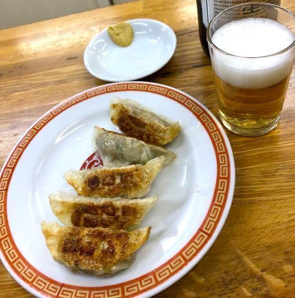 「焼き餃子 (1皿¥270・2皿から)」@亀戸餃子 本店の写真