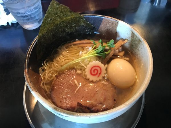 「和出汁そば 塩 700円」@麺坊 炗の写真