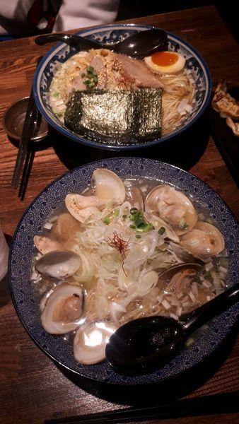 「ひのでや、ハマグリラーメン」@和風楽麺 四代目 ひのでやの写真