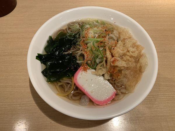 「たぬきそば 460円」@立ち食い蕎麦 あずさの写真