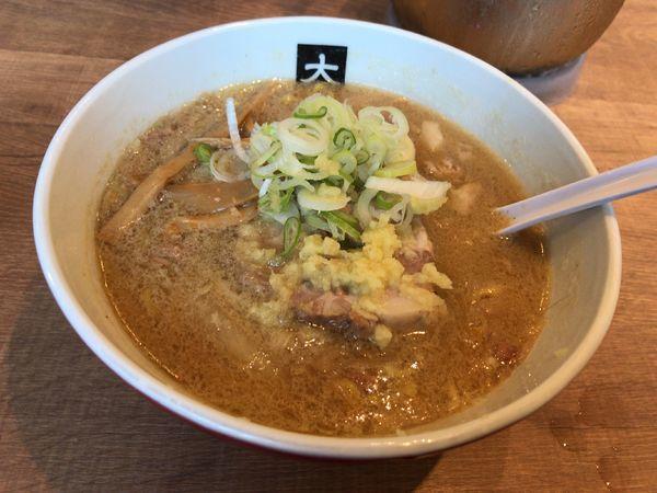 「味噌らーめん」@大島の写真