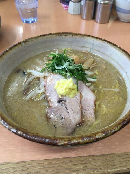 「味噌らーめん(大)」@麺屋 彩未の写真