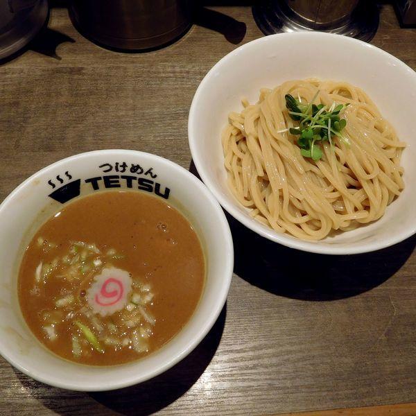 「つけめん(850円)」@つけめんTETSU 京王モール新宿店の写真