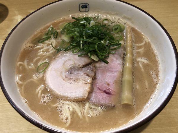 「ラーメン(大)」@麺や輝 長堀橋店の写真