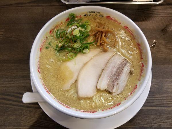 「うにそば(大盛)」@あら焼鶏白湯 カシムラの写真