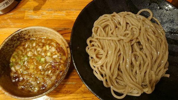 「つけ麺大 800円」@つけ麺 井手 本店の写真