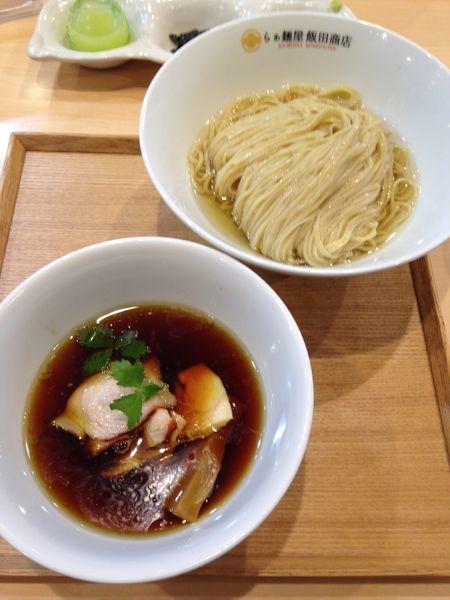 「つけ麺 1100円」@らぁ麺 飯田商店の写真