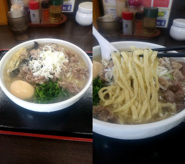 「『肉そば+中盛+肉増し(¥850+150+350)』」@喜奴屋の写真