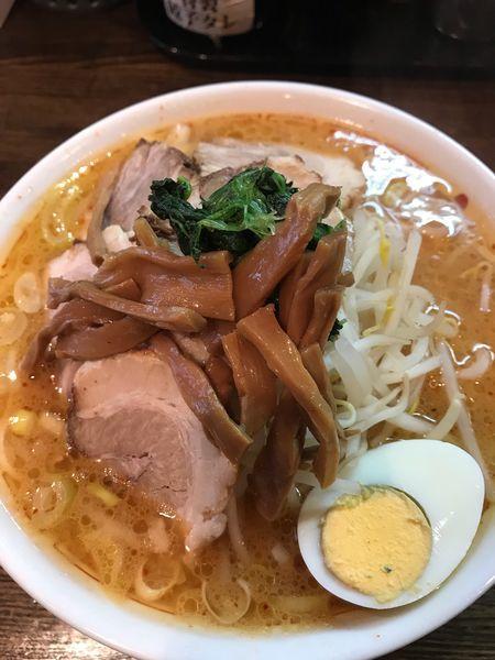 「味噌チャーシュー麺」@中華そば 光来の写真