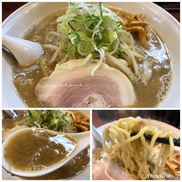 「味噌ラーメン  840円  サービス半ライス」@拉麺 梅太郎の写真