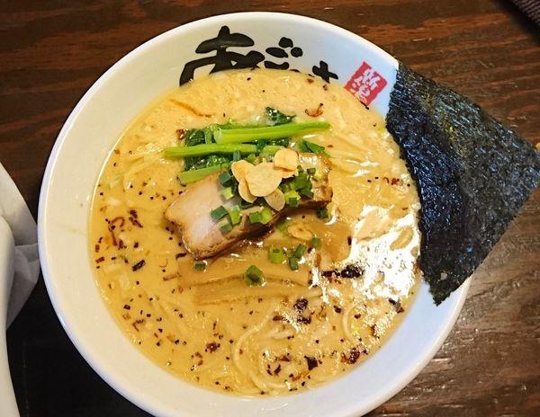 「鹽濁白湯麺 (塩とんこつらーめん)限定30食」@麺屋 あごすけの写真