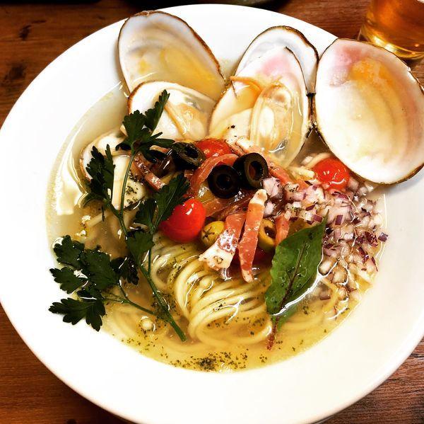 「限定 『道産白貝とトマトの汐Soba』」@kingyo noodlesの写真