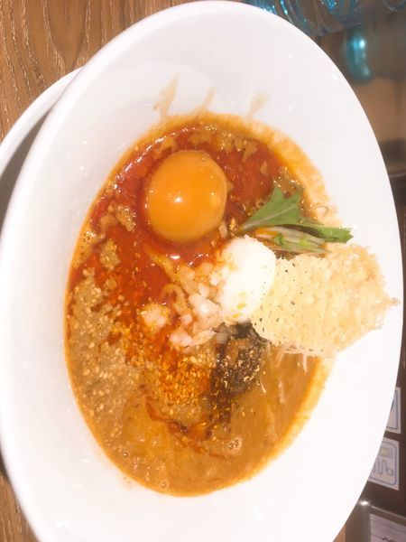 「白ごま坦々麺」@ばんから担々麺 新宿歌舞伎町店の写真