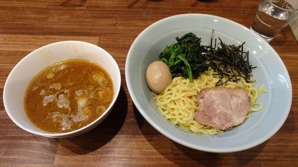 「つけ麺 大盛(850円)+味付け卵(100円)」@横浜家系 せいせき家の写真