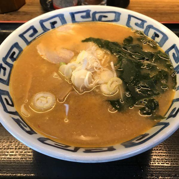 「味噌ラーメン(¥450)」@そば新 蒲田西口店の写真