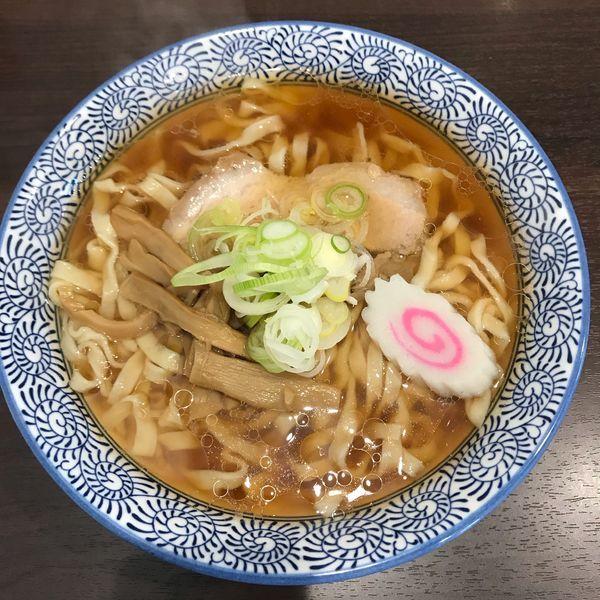 「懐かしの醤油ラーメン(麺大盛り)・謹製カレー」@手打ちラーメン 清仁軒の写真